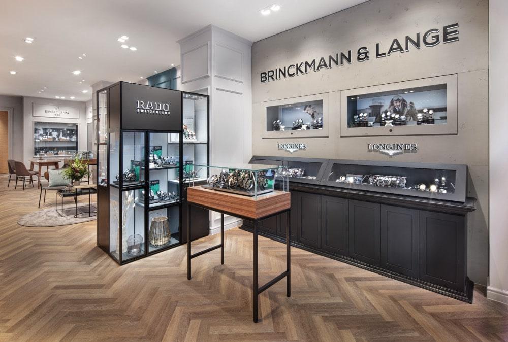 BRINCKMANN UND LANGE, Boutique in Leipzig, Innenansicht